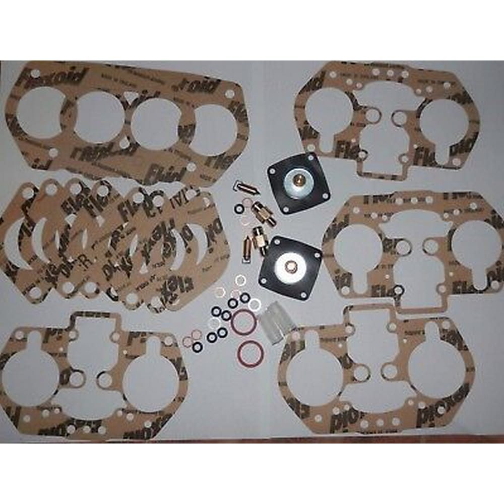 ABARTH WEBER 44 IDF CARBS REBUILD KIT FOR ONE PAIR