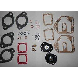 SOLEX 48 ADDHE CARBURETOR BASIC REBUILD KIT -ONE PAIR