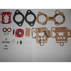 DELLORTO 40 DHLA CARBURETOR SERVICE KIT VITON TIP -WITH ADDED SCREWS