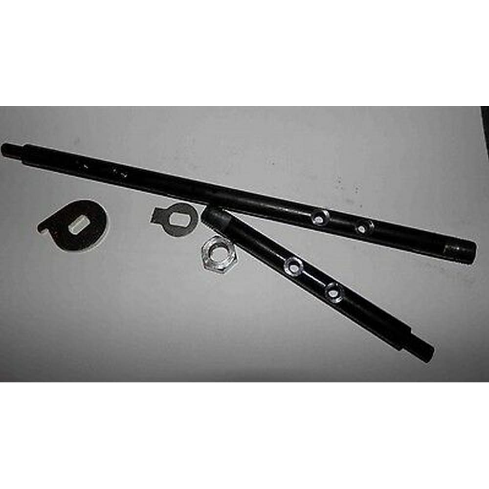 WEBER 40 IDA/IDT/IDTP 3 BBL CARBURETOR SHAFTS ENLARGED TO 8.2mm
