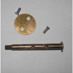 FIAT TOPOLINO WEBER 22 DRS SHAFT&PLATE 6mm ORIGINAL WEBER