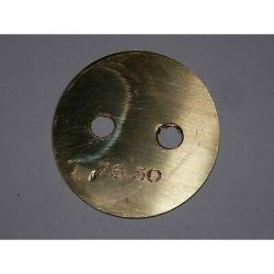 FERRARI WEBER 40 DCZ CARBURETOR THROTTLE PLATE-76°30