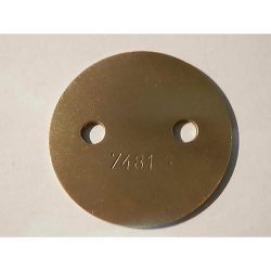 DELLORTO 40 DHLA THROTTLE PLATE 7481.3
