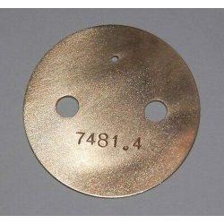 DELLORTO 40 DRLA 7481.4 THROTTLE PLATE