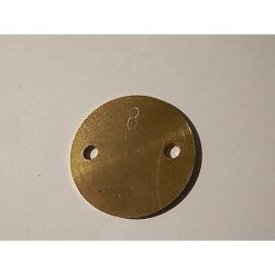 ZENITH 36/38 NDIX  THROTTLE PLATE-8°