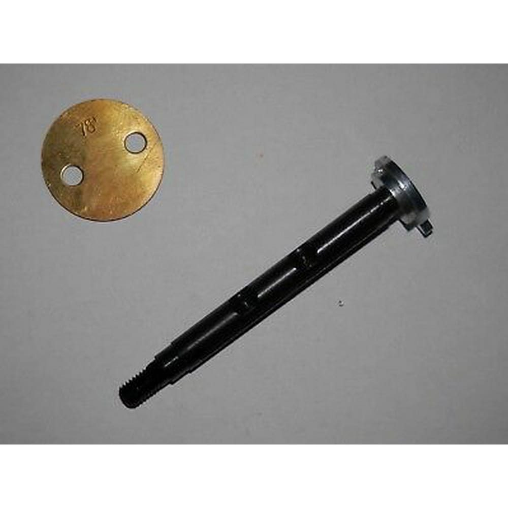 FIAT WEBER 28 IMB CARBURETOR SHAFT OVERSIZED 6.5mm WITH BUTTERFLY