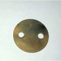 SOLEX PBIC/PII/PAIA THROTTLE PLATE-7°